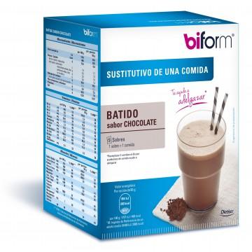 Batido chocolate 6 sobres sustitutivo comida BIFORM