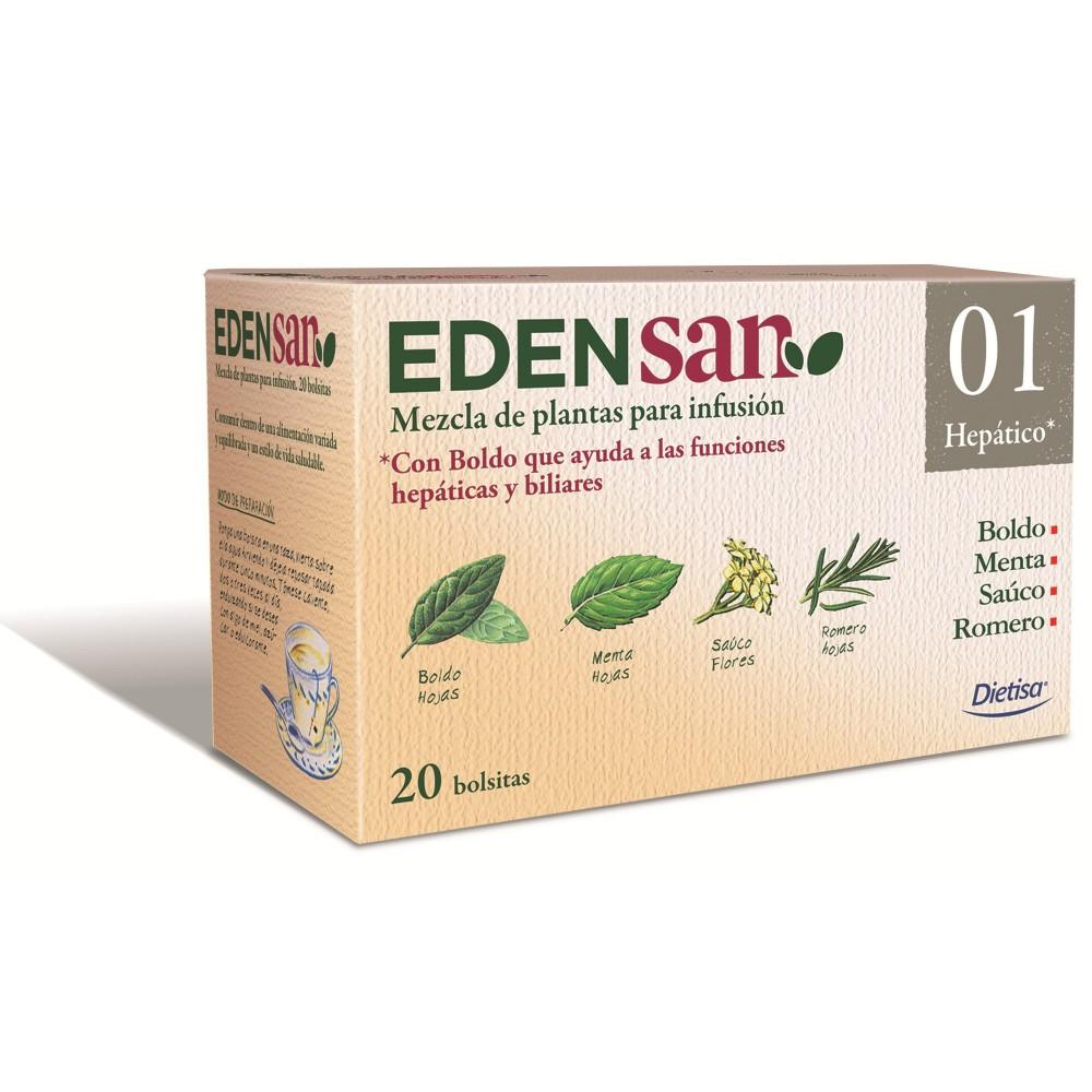 Edensan 01 Hepatico 20 filt. DIETISA