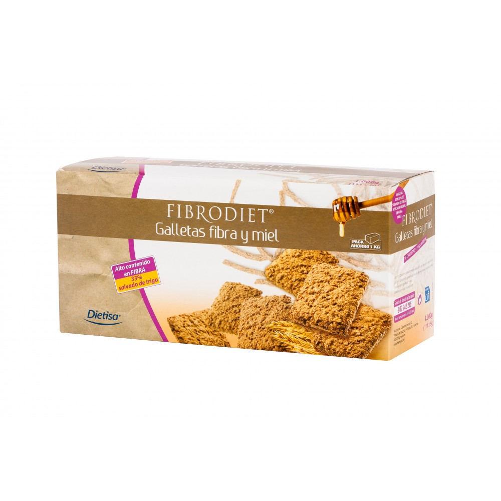 Fibrodiet galletas 1000g DIETISA