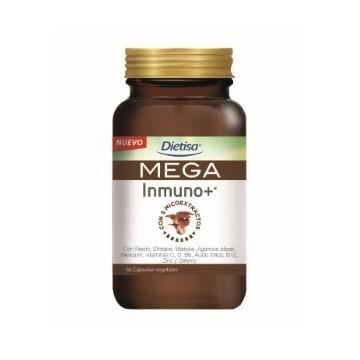 MEGA Inmuno+ 60cap. DIETISA