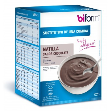 Natillas chocolate BIFORM