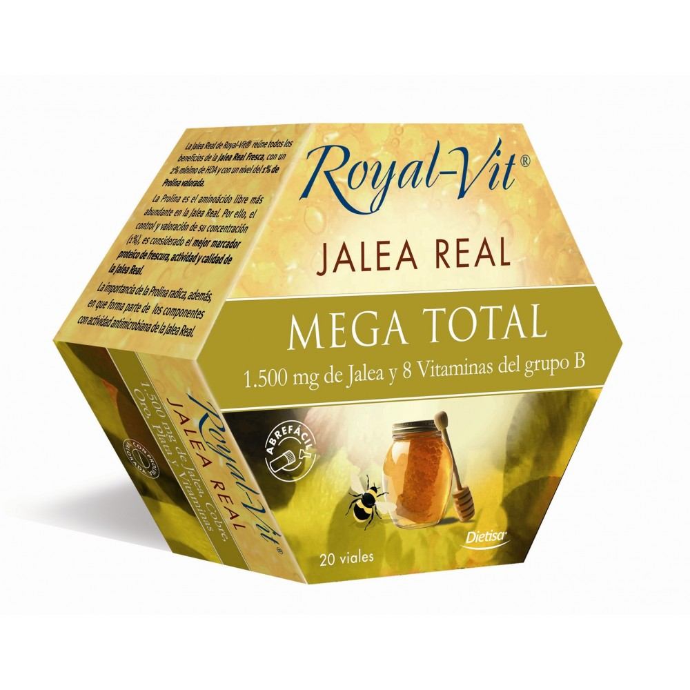 Jalea 1500 Mega total 20 amp. Royal vit