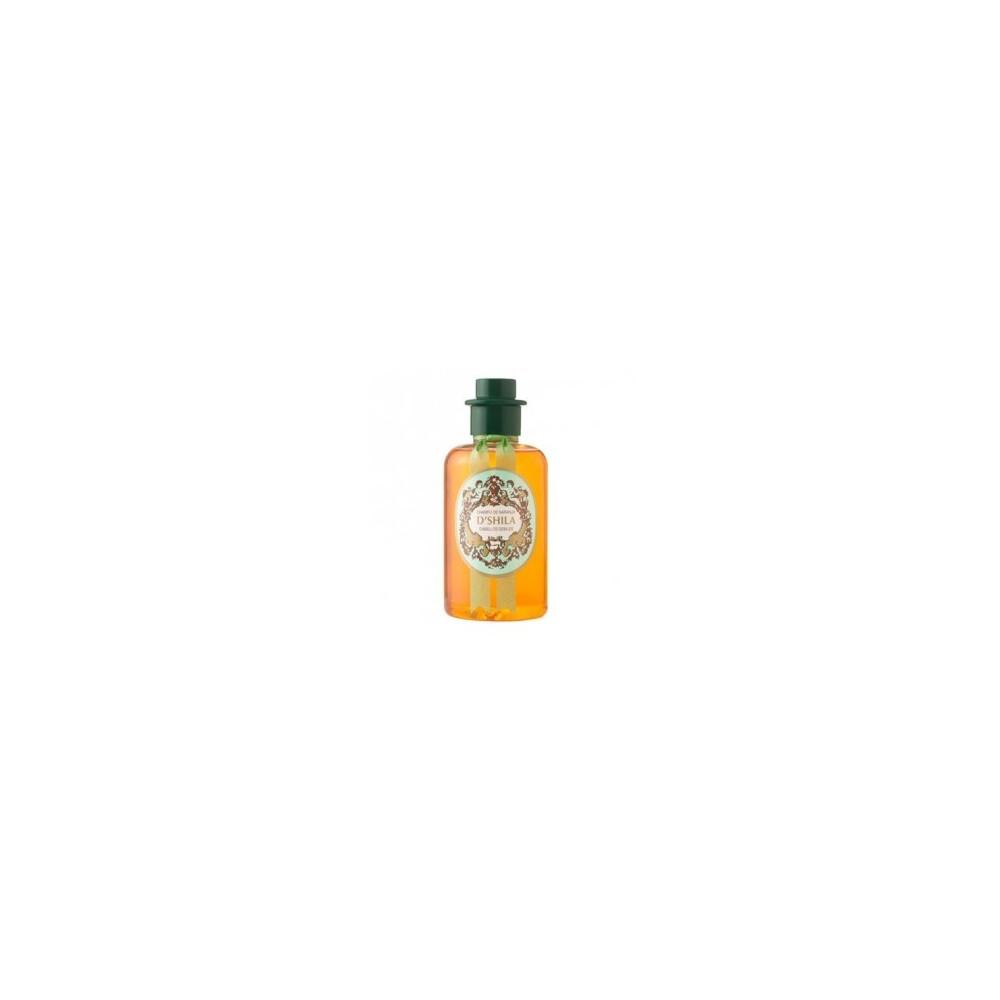 Champu naranja PET 300 ml.  D' SHILA
