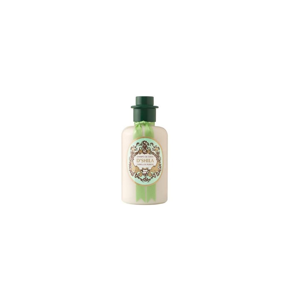 Champu coco PET 300 ml. D'SHILA