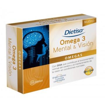 Omega 3 Mental Vision 45 perlas DIETISA
