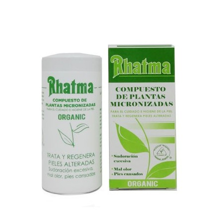 Micronizado de plantas 75 gr. Desodorante RHATMA