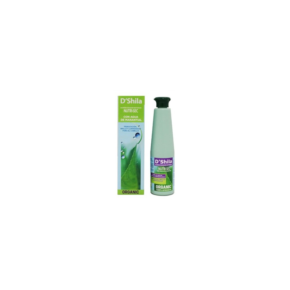 Acondicionador cabello seco y teñido 300ml.  D'SHILA (nutri-sec)