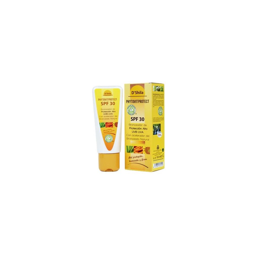 Protector solar 100 ml. SPF  30 D'SHILA