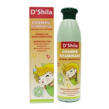 Champu escolar vitaminado 250 ml. D'SHILA