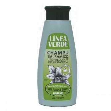 "Champu Hierbabuena "" frecuente"" 400 ml. L. VERDE"