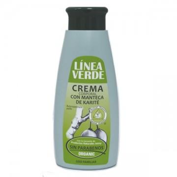Crema corporal Karite 400 ml. L. Verde