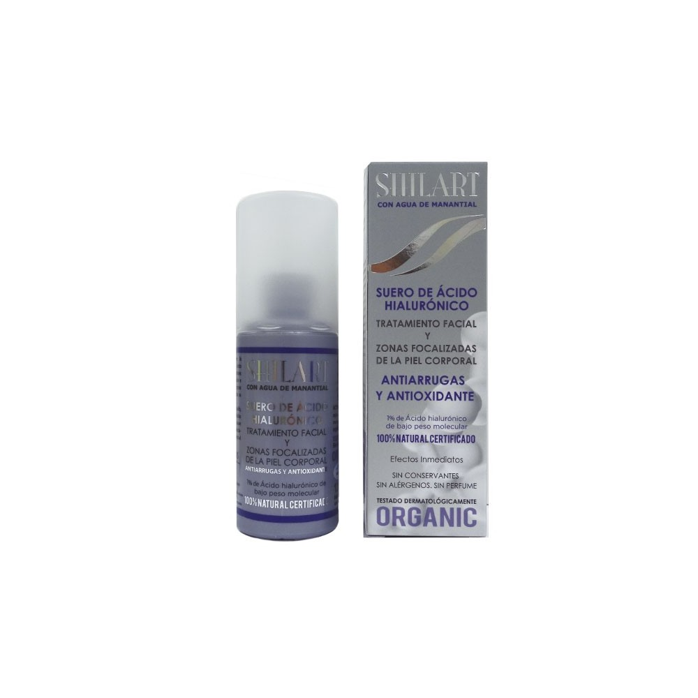 Suero acido hialuronico 1/% 120ml. SHILART