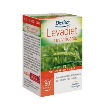 Levadiet revivificable 80 cap. DIETISA
