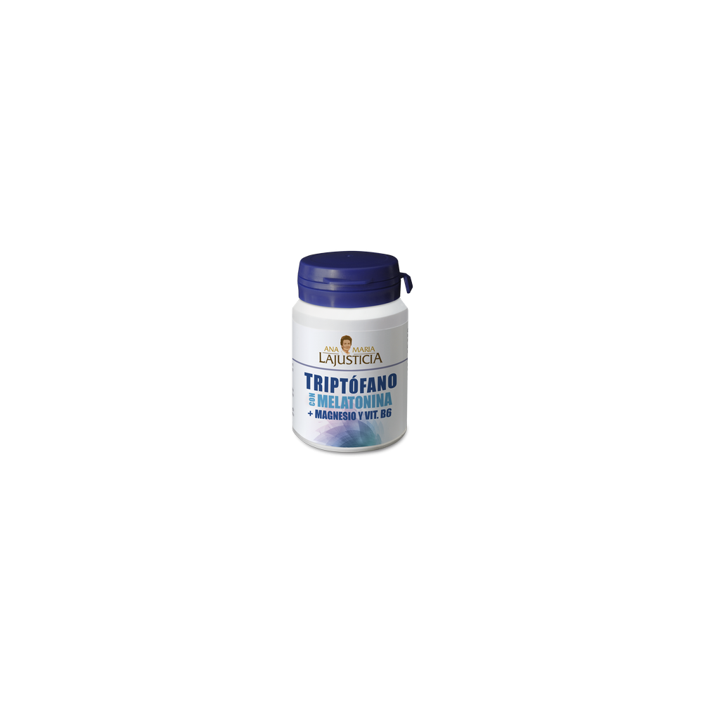 Triptofano+ melatonina 60 comp. LAJUSTICIA