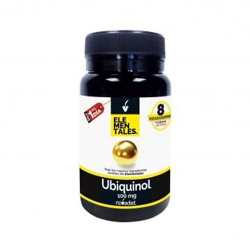 Ubiquinol 100 mg. Elementales 30cap. NOVADIET