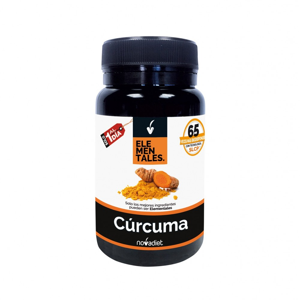 Curcuma Elementales 30 cap. NOVADIET