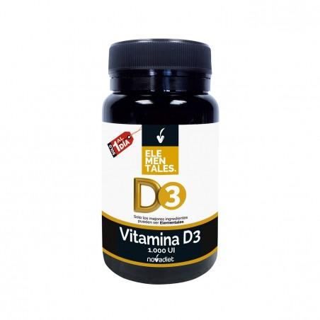 Vitamina D3 Elementales 120 comp. NOVADIET