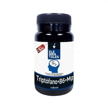Triptofano+B6+mg Elementales 30 cap. NOVADIET