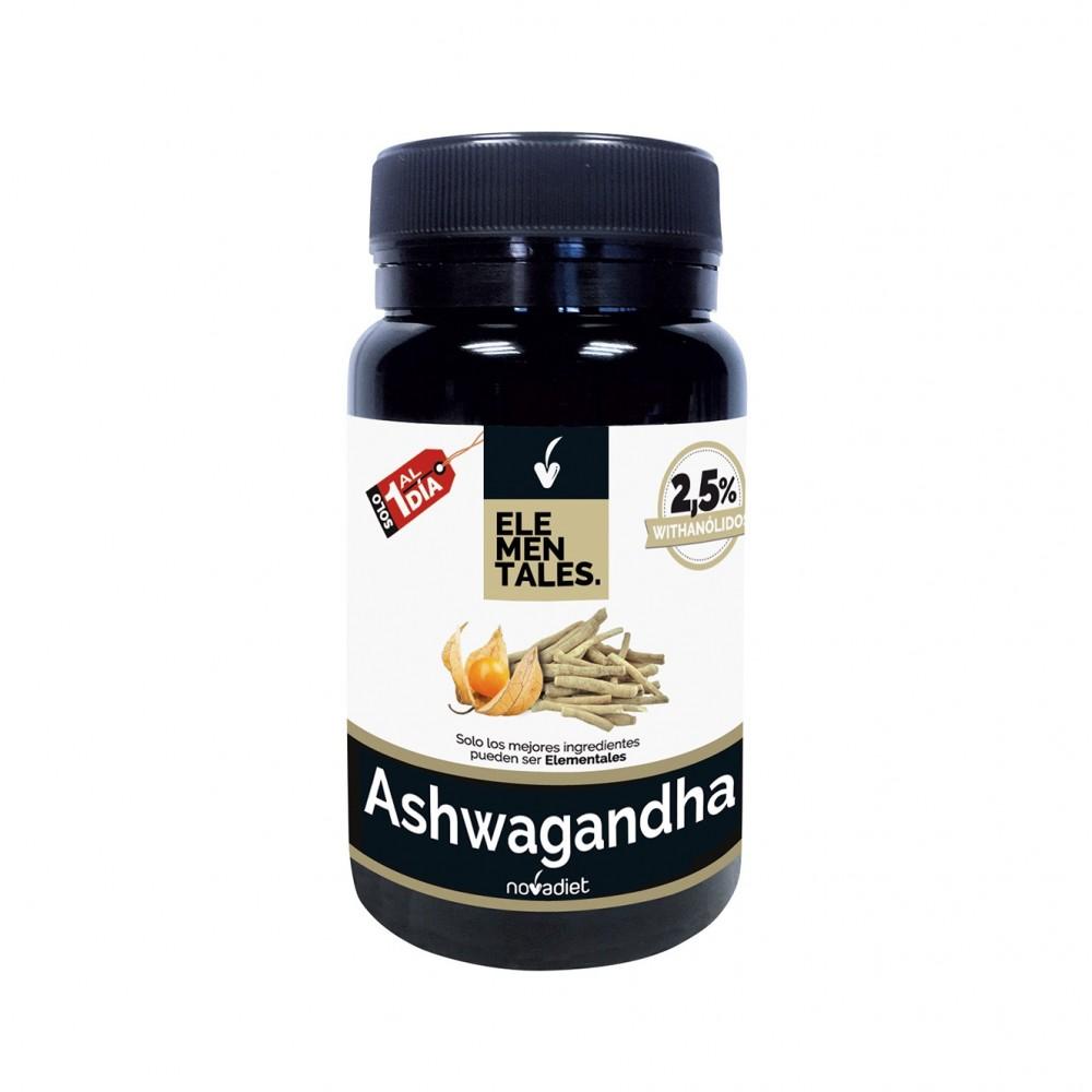 Ashwagandha Elementales 30 cap. NOVADIET