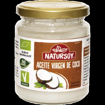 Aceite coco bio 200gr. Natursoy