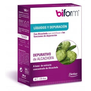 Depurativo Alcachofa Biform 20 viales DIETISA