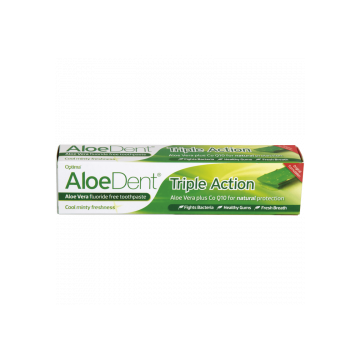 Dentifrico Aloedent triple accion sin fluor