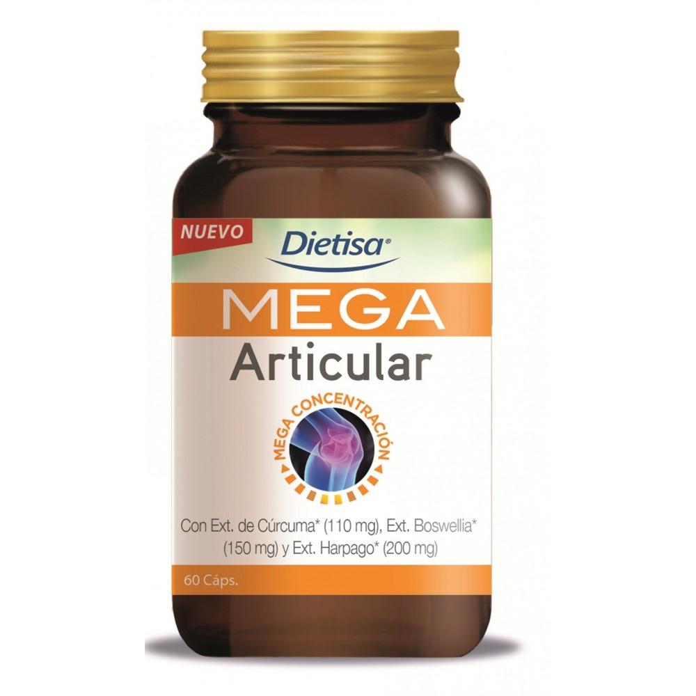 Mega Articular Curcuma 60 cap. DIETISA