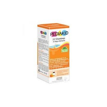 Pediakid jarabe vitaminas+oligoelementos 125ml INELDEA