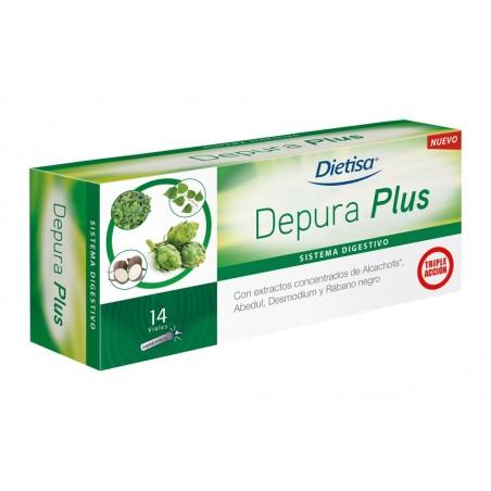 "Depura Plus 14 viales DIETISA ""depurativo hepático"""