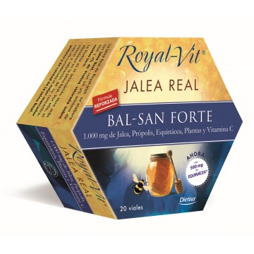 Jalea Real Balsam Forte Royal Vit 20 amp. DIETISA