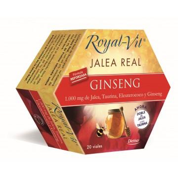 Jalea Real Ginseng Taurina Royal Vit 20 amp. DIETISA