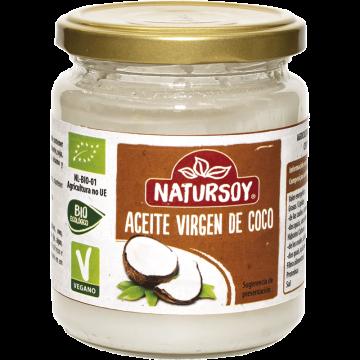 Aceite Coco bio 400gr. Natursoy