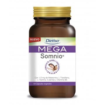 Mega Somnio Melatonina 60 cap. DIETISA